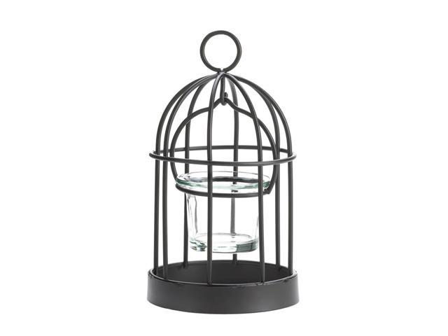 Home Indoor Decorative Holiday Gift Décor Hanging And Table Top Mini Iron Birdcage Candle Holder