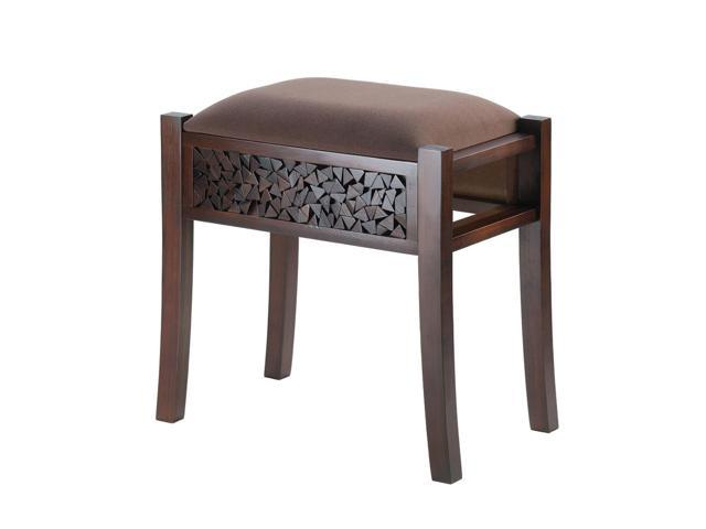 Home Indoor Decorative Holiday Decor Regent Carved Foot Stool