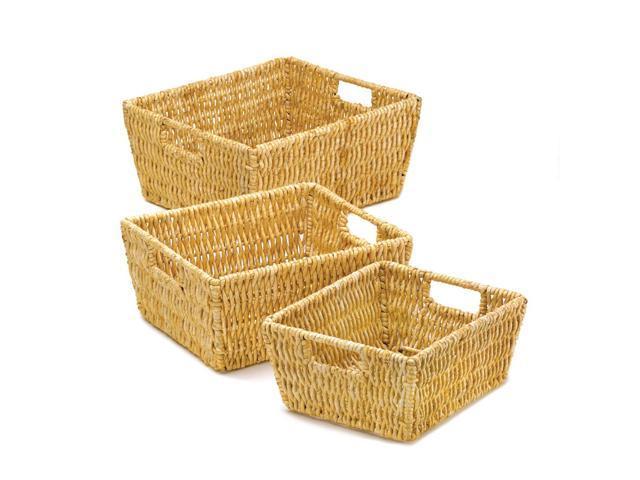 Home Indoor Decorative Holiday Gift Decor Multipurose Storage Organize Arcadian Nesting Baskets