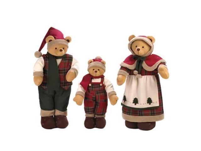 Home Indoor Decorative Holiday Decor Holiday Bear Decor Family
