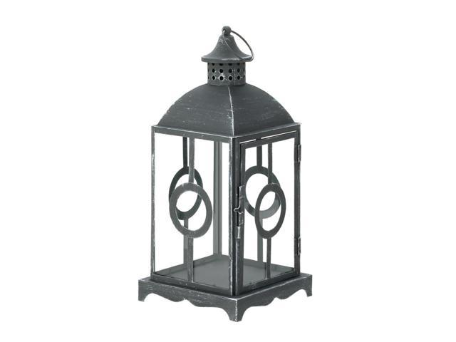 Home Indoor Outdoor Decorative Holiday Gift Décor Hanging And TableTop Candle Accessory Metal Circlet Candle Lantern