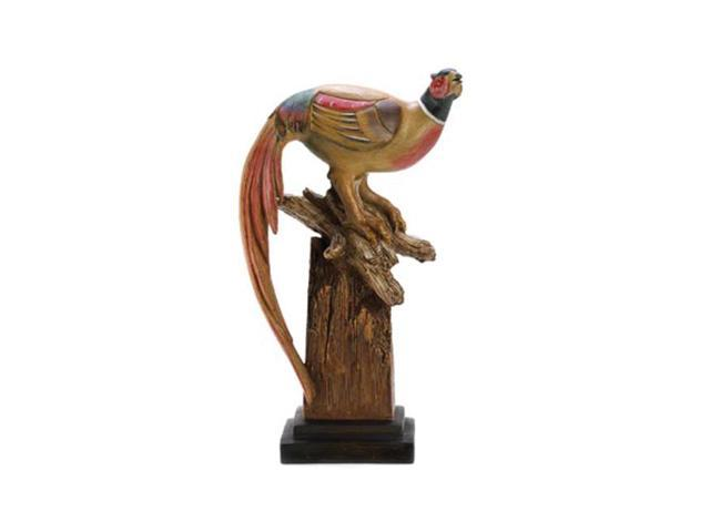 Koehler Home Decorative Gift Accent Pheasant Decoy Sculpture Statue
