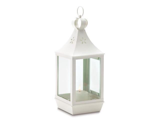Koehler Home Decor Large Cutwork Outdoor Garden Gift Accent Candle Holder Lantern
