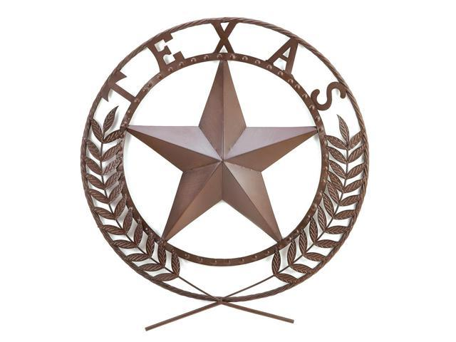 Koehler Indoor Home Entry Decorative Accent Texas Star Metal Wall Plaque