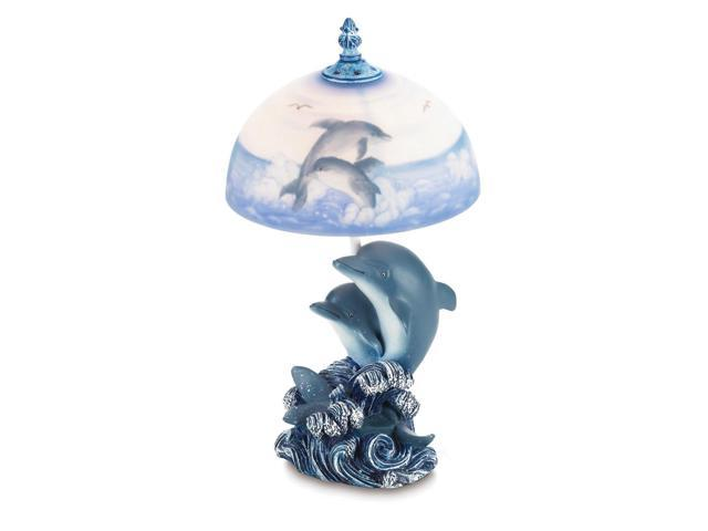 Koehler Indoor Home Decorative Gift Accent Dancing Dolphin Table Night Lamp