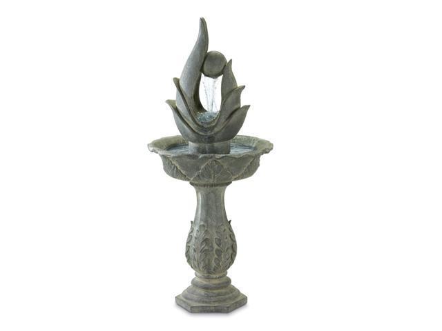 Koehler Home Outdoor Garden Decor Freestanding Garden Art Water Fountain