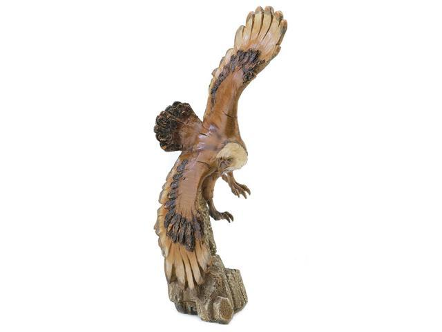 Koehler Home Decorative Gift Accent Soaring Eagle Statue Figurine