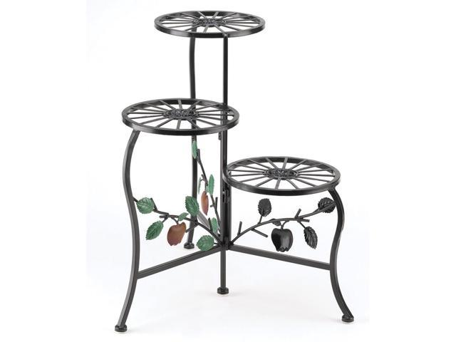 Koehler Home Garden Decorative Gifts Accent Country Apple Plant Display Stand