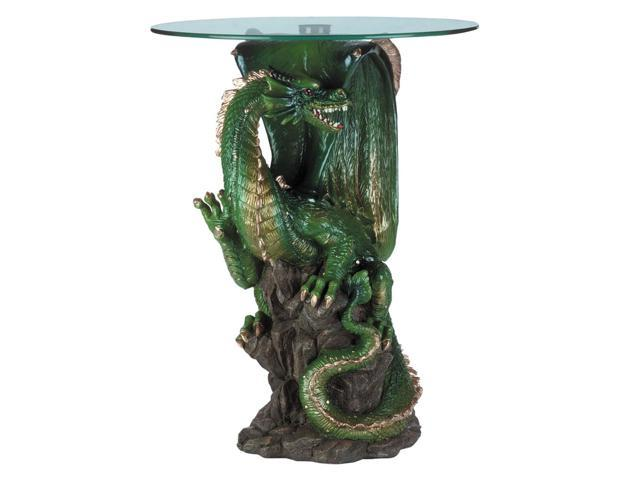 Koehler Home Decor Gift Accent Hallway Sofa Side End Dragon Table