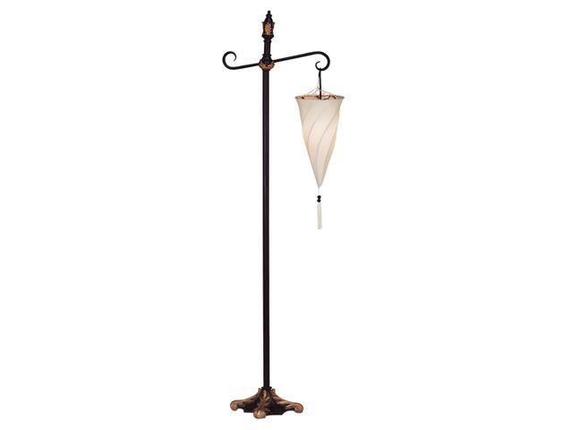 Koehler Home Decor Gift Accent Spiral Shade Hanging Free Standing Floor Lamp