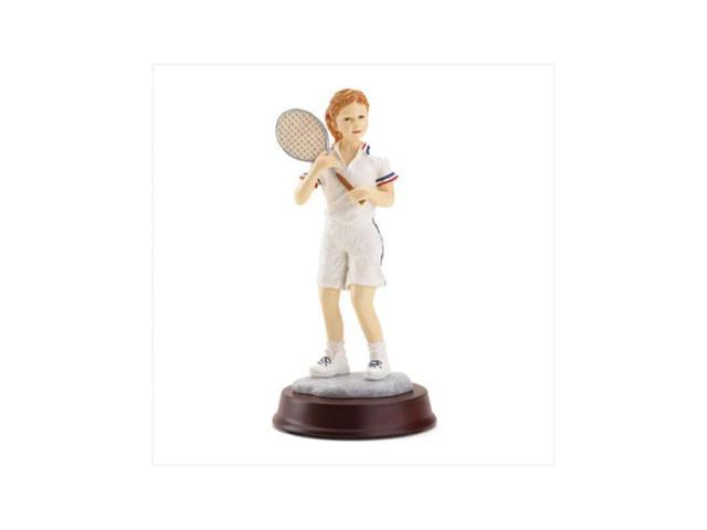 Koehler Christmas Gift Home Living Room Decor Accent Tennis Girl Sports Figurine Statue
