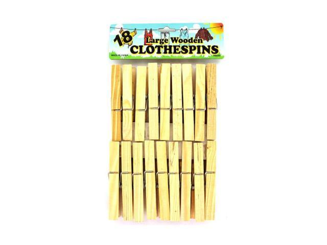Household Accessories Seasonal Gifts Wooden Clothespins 24 Pack