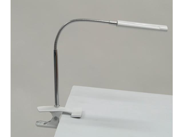 Art Craft Drafting Decorative Industrial Adjustable Table Desk Clamp Lamp White