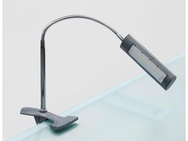 Studio Designs Home Industrial Decorative Adjustable Art Clamp Lamp Silver