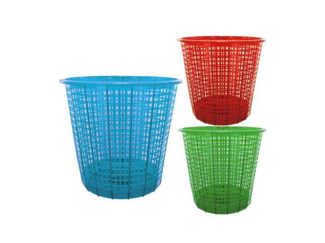 Home Indoor Household Accessories Seasonal Gifts Plastic Mesh Trash Can 18 Pack