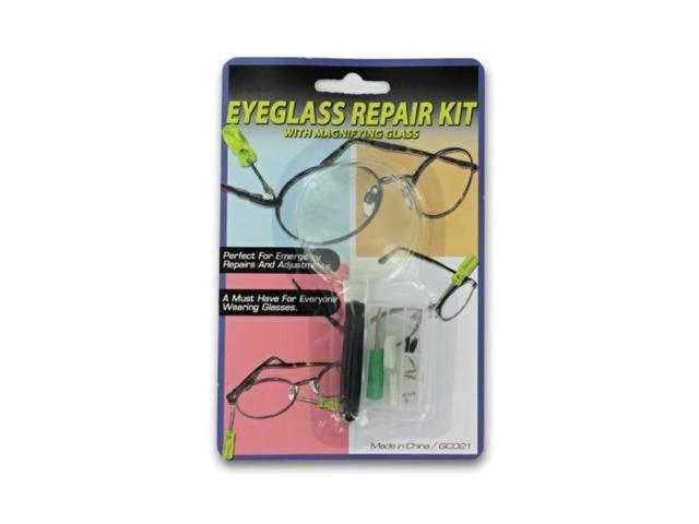 Bulk Buys Eyeglass Glasses Adjustment Screwdriver Repair kit Tool Set Pack 24