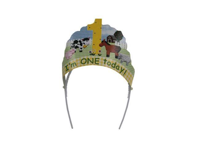 Bulk Buys Birthday Party Im One Today Head Bopper Wear Celebration Decor 24 Pack
