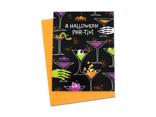 Home Indoor Household Accessories Seasonal Gifts Halloween Par-Tini Invitations 24 Pack