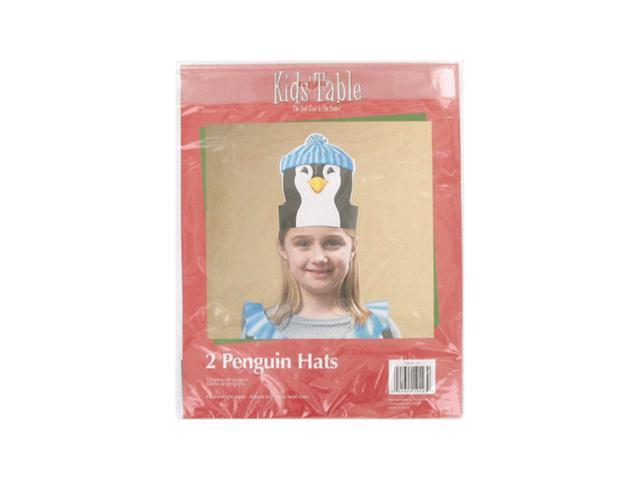 Bulk Buys Kids Children Holiday Party Decorative Fun Penguin Hats Pack of 2 Case 24