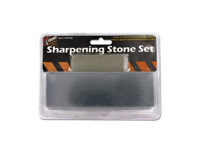 Sterling Home Industrial Building Tool Sharpening Stone Set 24 Pack