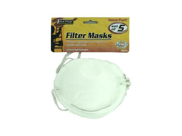 Sterling Anti Dust Paint Spray Proof Travelling Face Filter masks 24 Pack