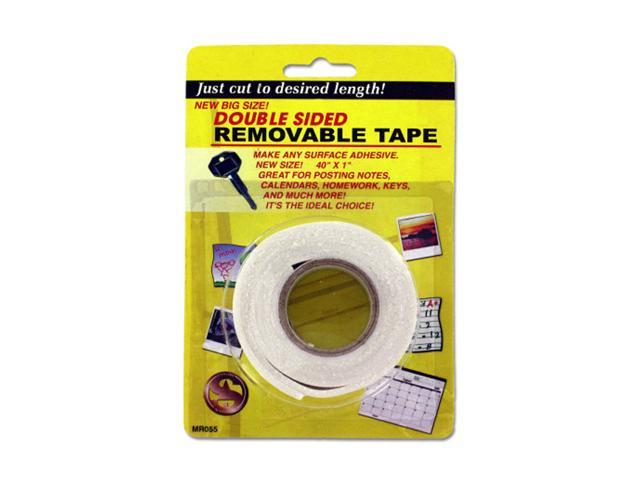 Bulk Buys Home Office Wall Mount Decorative Double-Sided Foam Tape 36 Pack