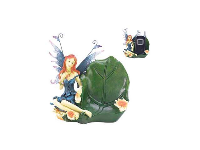 Koehler Home Decorative Metal Polyresin Fairy Cellphone Holder Mobile Cradle