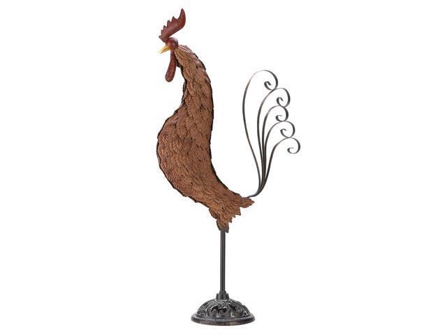 Koehler Indoor Tabletop Home Decor Gift Accent Metal Sculpture Rooster