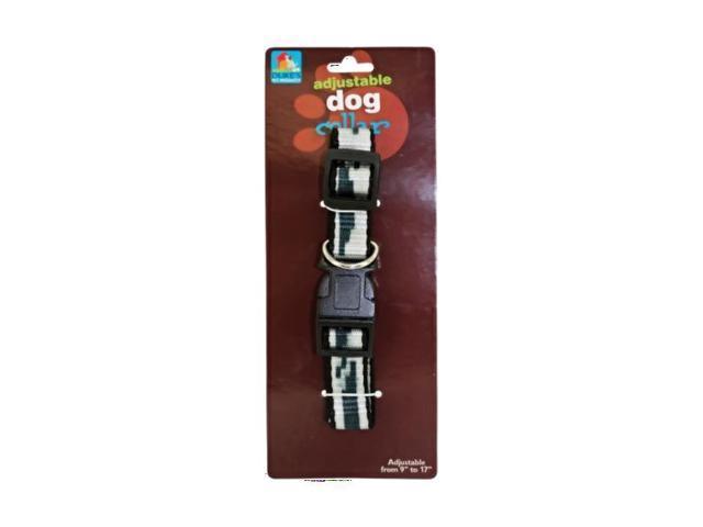 Dukes Nylon Home Indoor Outdoor Pet Dog Cat Training Adjustable Collar Pack 24