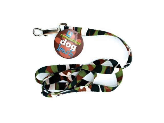 Dukes Home Indoor Outdoor Pet Dog Cat Puppy Camouflage Design Training Leash Nylon Pack 24