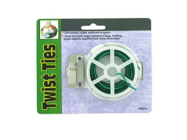 Home Indoor Household Accessories Seasonal Gifts Twist Ties With Reel 24 Pack