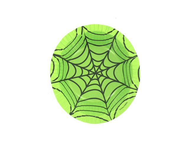 Bulk Buys Scary Themed Event Party Spiderweb Bowl For Halloween Treats 24 Pack