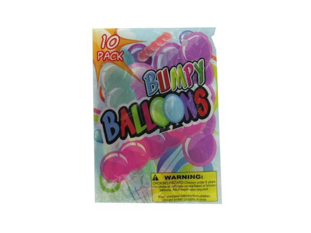 Bulk Buys Party Decorative Kids Fun Playing Giant bumpy balloons 10 Pack