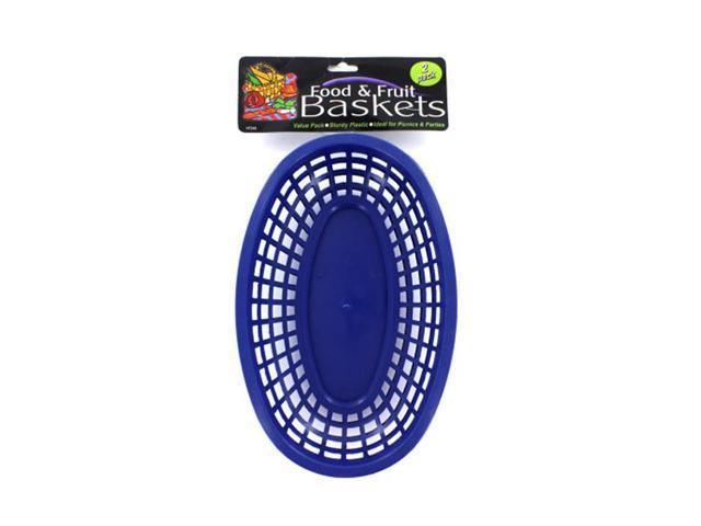 Home Ondoor Travel Household Accessories Seasonal Gifts Oval Food Basket 24 Pack