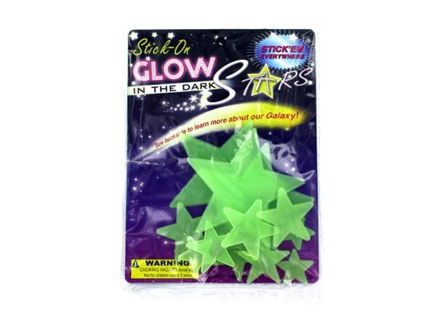 Bulk Buys Kids Children Bedroom Glow In The Dark Stars Wall Decal Sticker 24 Pack
