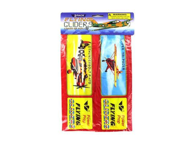 Bulk Buys Kids Indoor Outdoor Fun Playing Toy Airplane Flying gliders Game Styrofoam 24 Pack