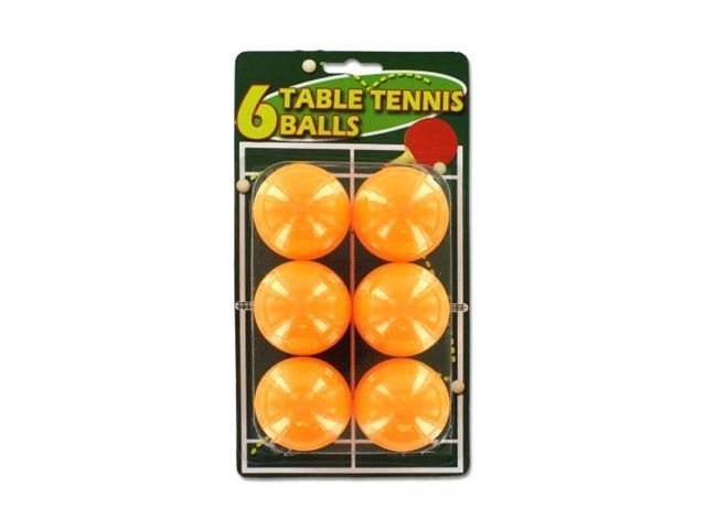Bulk Buys Kids Children Indoor Fun Play Orange Table Tennis Balls Toy Game Plastic 24 Pack