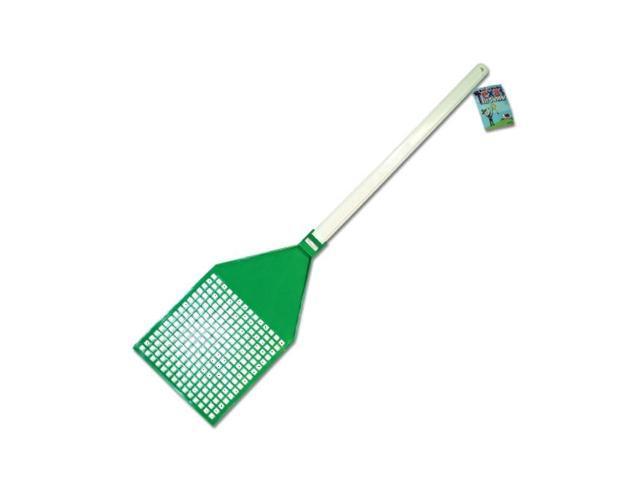 Bulk Buys Jumbo Texas Plastic Long Handled Fly Mosquito Killer Swatter Pack 12