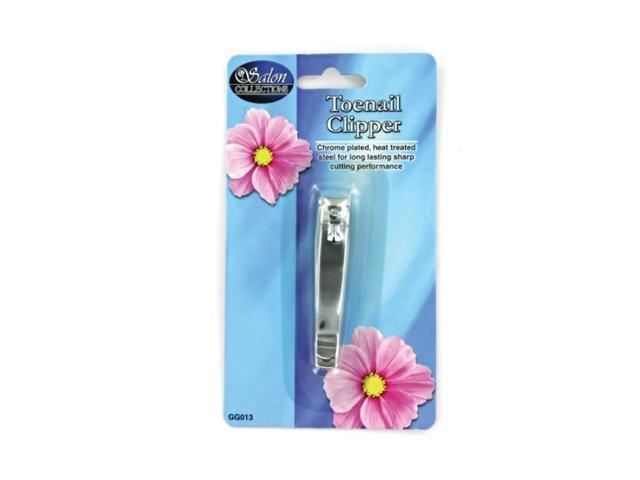 Salon Collections Portable Grooming Trimmer Hand Toe Metal Nail Clipper Pack 24