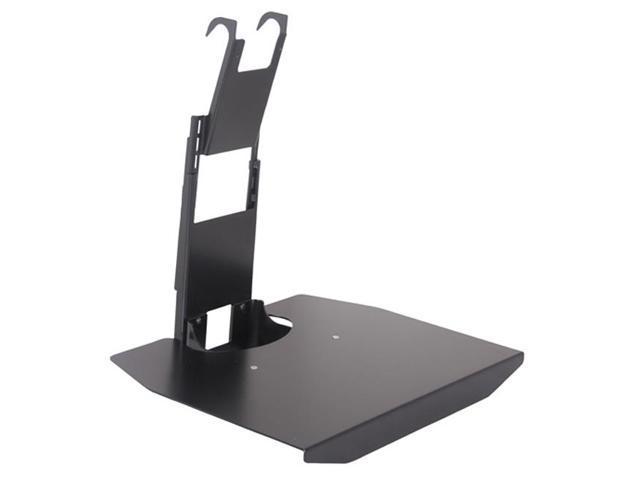 chief flat panel tv av component stackable shelf wall mount accessory 20lbs black. Black Bedroom Furniture Sets. Home Design Ideas