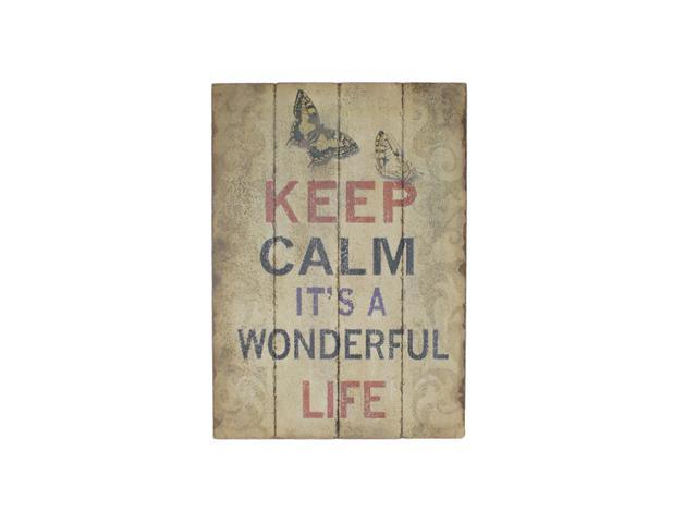 Home Indoor Wall Hanging Decorative Holiday Seasonal Gift Wooden Wall Art with Life Quote