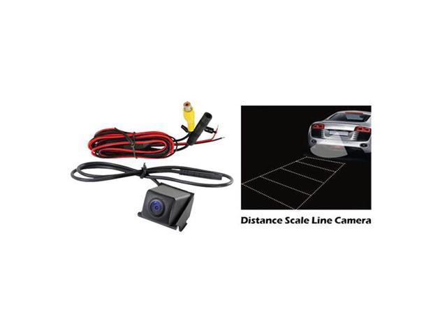 Pyle Buick Vehicle Specific Rear View Backup Camera with Distance Scale Line