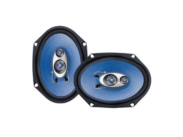 Pyle 6'' x 8'' 360 Watt Three-Way Speakers
