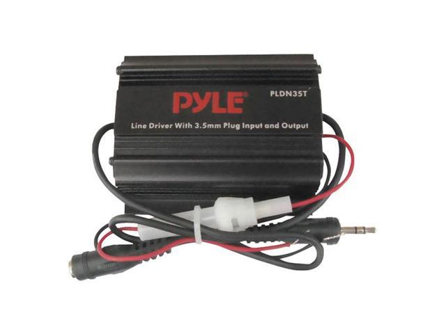 Pyle 3.5mm / 1/8'' To 3.5mm / 1/8'' Stereo Audio Ground Loop Isolator/ Audio Line Driver