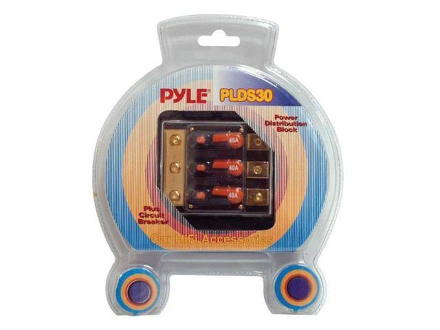 Pyle Triple 40 Amp In-Line Circuit Breaker