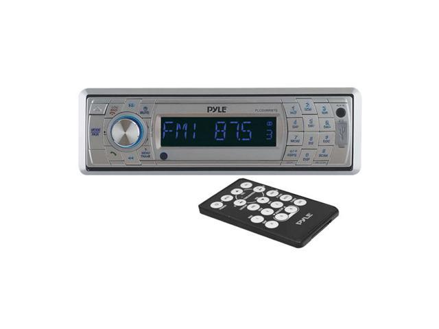 Pyle AM/FM Marine In-Dash Fold Down Detachable Face Radio w/CD/MP3/USB/SD/AUX Input with Bluetooth Wireless Technology
