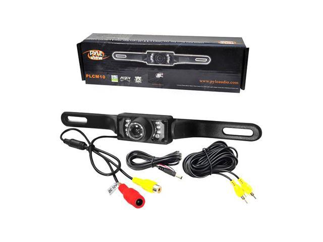 Pyle License Plate Mount Rear View camera w/Night Vision