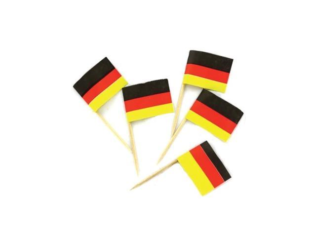 Bulkbuys German Decorative Home Garden Greeting Party food picks pack