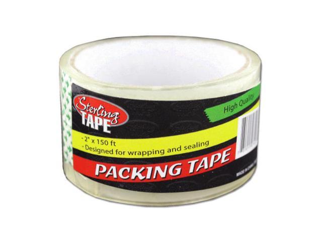 Sterling Wrapping Carton Sealing Adhesive Packing Tape 18 Pack
