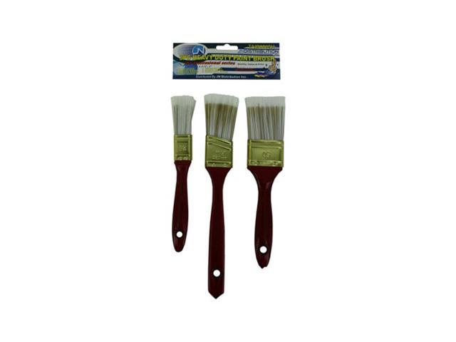 Home Indoor Outdoor Household Tool Accessories Heavy Duty Paint Brush Set 12 Pack